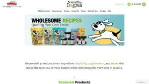 healthy dogman dog food website