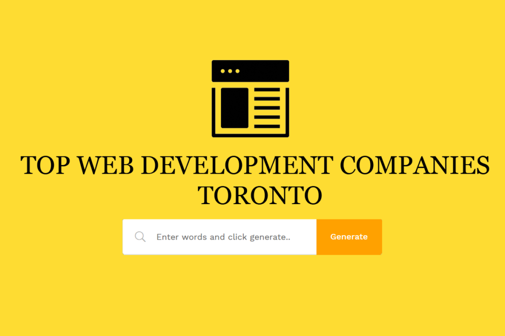Website Development Company Toronto