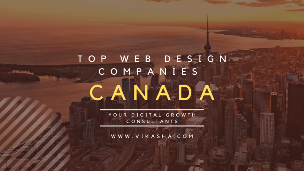 Top web design companies Canada